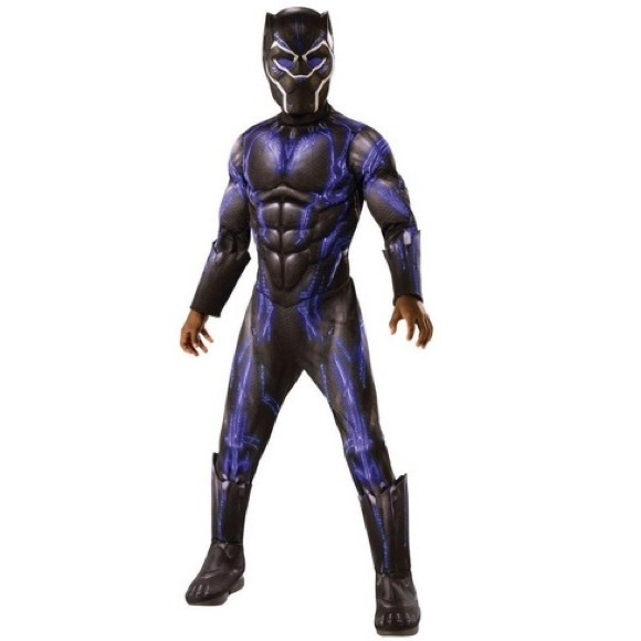 BRAND NEW - Black Panther Costume for Kids